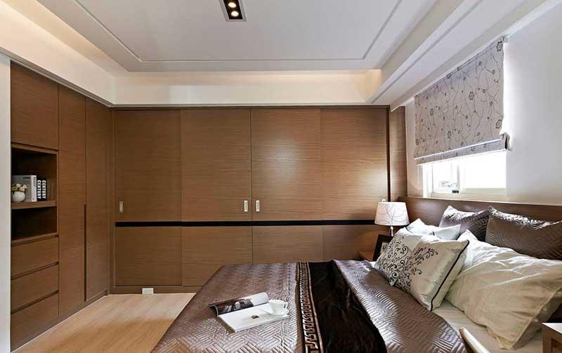 混搭风格三居室130平米装修效果图