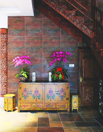 古典中式玄关柜
