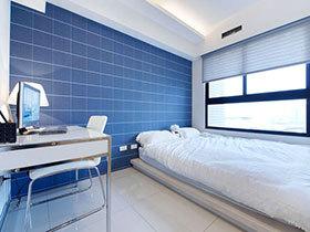 静心好睡眠 12个蓝色卧室推荐