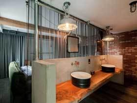 个性双层公寓 180平混搭空间
