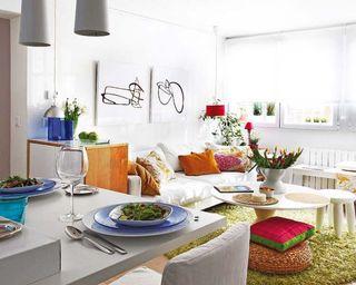 宜家小客厅设计效果图