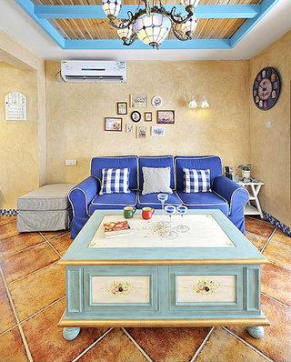 大户型客厅三人沙发