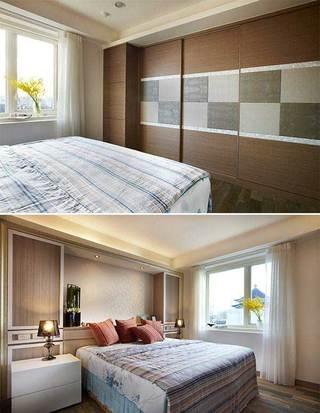 混搭实用卧室设计效果图