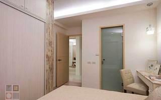 简约风格三居室80平米旧房改造家装图片