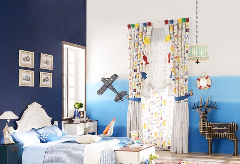 地中海儿童房照片墙