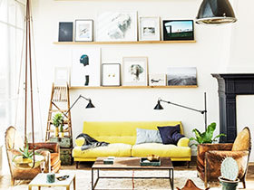 墙面设计新方案 15款简约照片墙