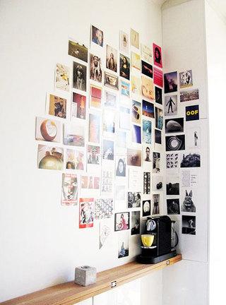 创意卧室照片墙