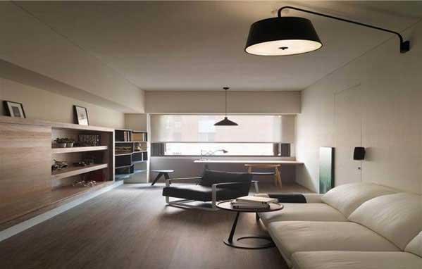 原木温馨客厅设计效果图
