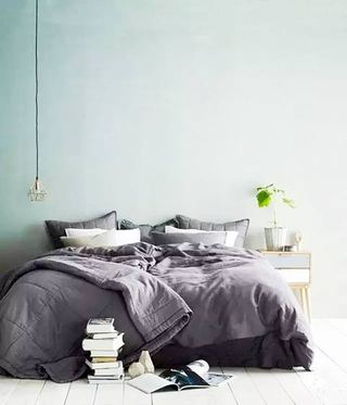 绿色清爽卧室
