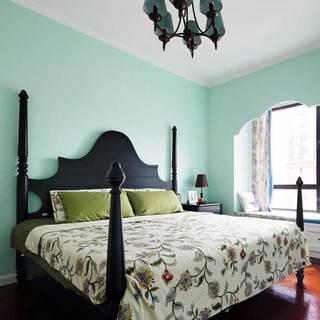 美式清新卧室设计效果图