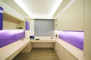 现代简约风格三居室时尚90平米装修效果图