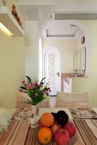 田园风格三居室温馨100平米设计图纸