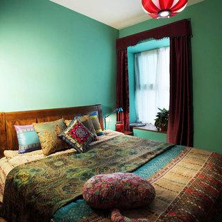 东南亚卧室设计效果图