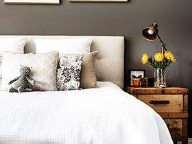 卧室床头绿植 11图点缀床头空间