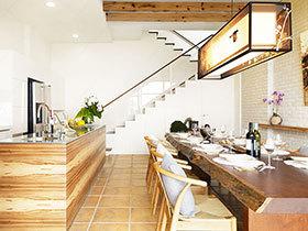 新中式餐厅设计 13图尽享大气风格