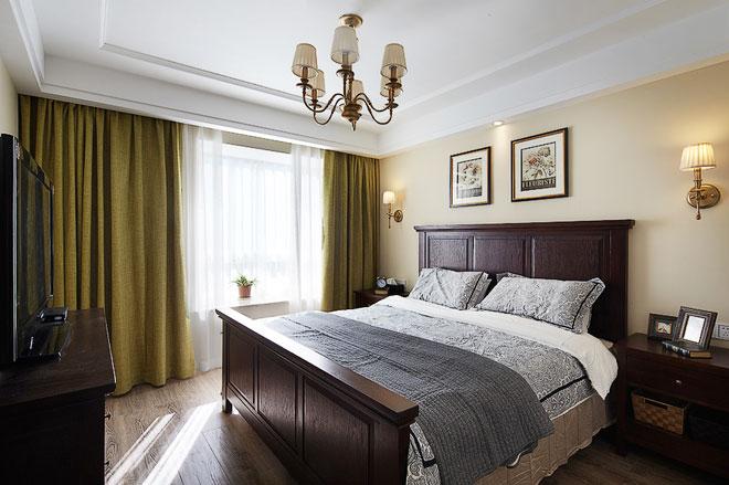 小美式风格卧室设计图片