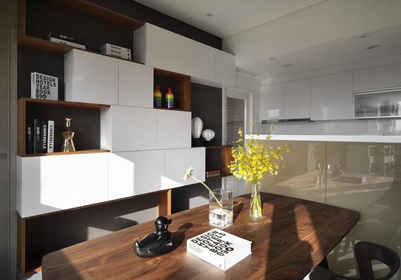 现代简约风格一居室50平米装修效果图