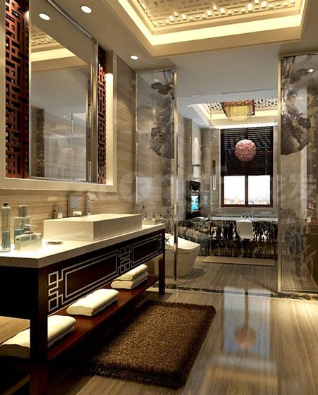 典雅中式风卫浴间设计