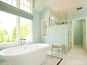 自然清新 14個田園風格衛浴間設計