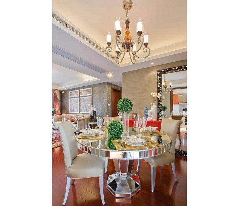 欧式风格106平面两室装修效果图,室内设计效果图 齐家装修网 -欧式高清图片