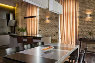 现代简约风格二居室装修图片