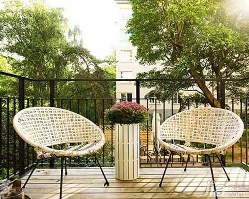 阳台花园设计施工技巧 阳台花园设计效果图