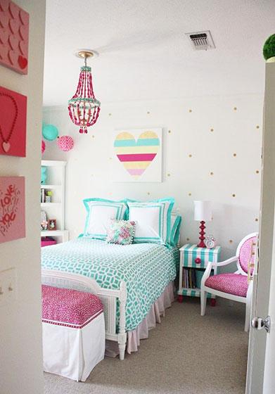 小清新舒适女生卧室