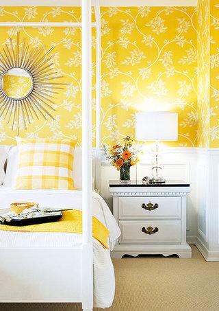 黄色+白色