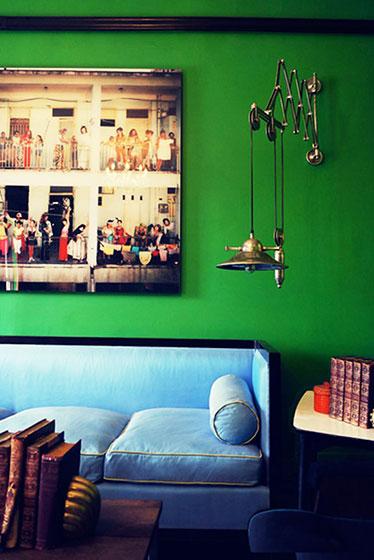 绿色+蓝色
