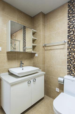简约风格二居室实用80平米效果图
