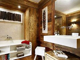 衛浴間有新態度 16個木質衛浴間設計