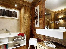 卫浴间有新态度 16个木质卫浴间设计