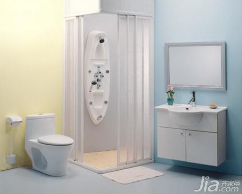 卫生间的出水口有下排水和横排水之分,要量好下水口中心至水箱后面图片