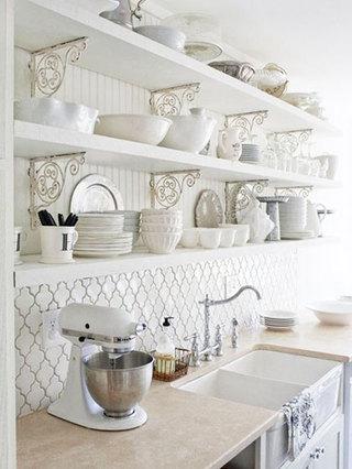 淡蓝色可爱风格厨房