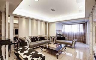 新古典客厅设计效果图