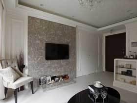 78平素雅简洁欧式公寓 很宽敞的三居室