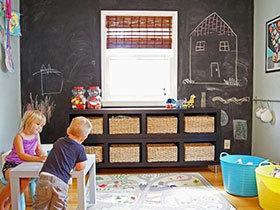 12款儿童房黑板墙 为孩子打造童年梦想