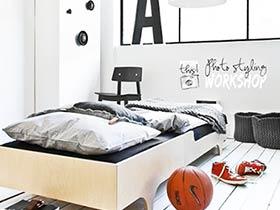 12圖創意臥室床頭 個性時尚風走起