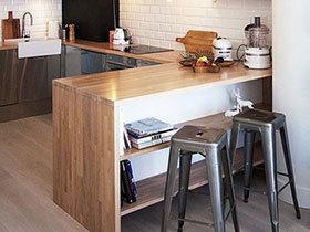 尽享自然 12个木质吧台区设计