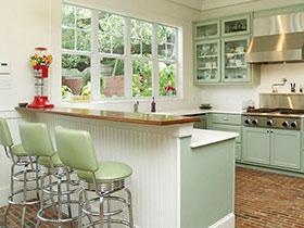 吧台厨房紧相拥 11个厨房吧台案例