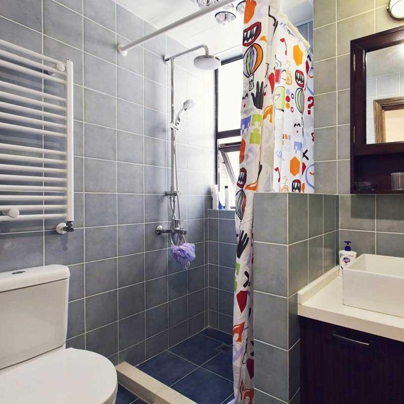 混搭清新卫生间设计效果图