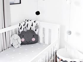 黑白色兒童房 12圖造不一樣的空間