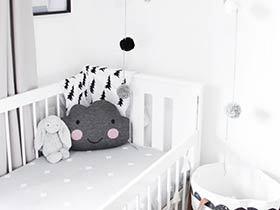 黑白色儿童房 12图造不一样的空间