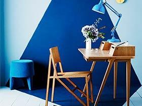 5款小清新书房效果图 与众不同的墙面设计