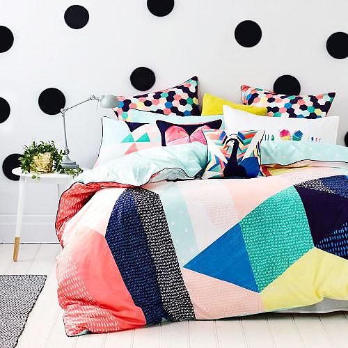 彩色清新床上用品