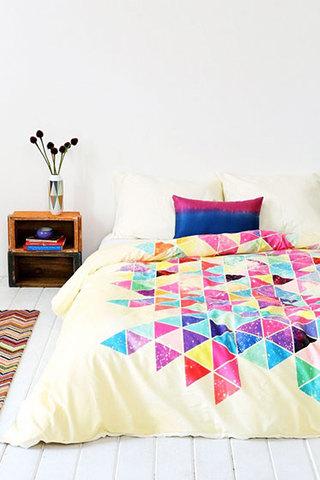 彩色床上用品