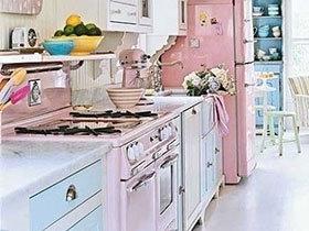 超炫超萌 11款萌系小清新厨房设计