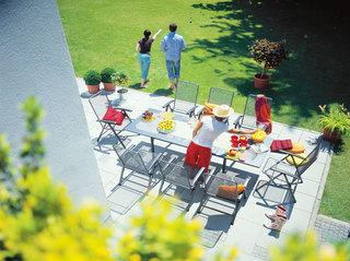 铁艺室外组合餐桌椅