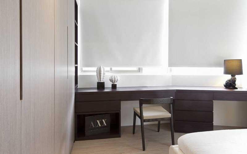 混搭风格二居室70平米装修效果图