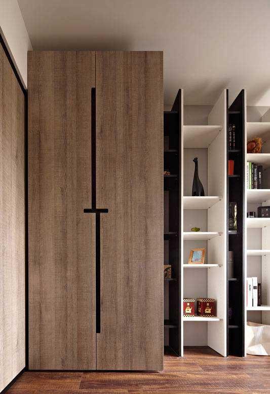 现代简约风格三居室80平米设计图纸